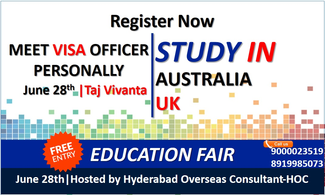 Study In Australia & Uk - Best Overseas Education Consultant